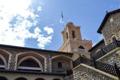 Monasterio de Kykkos en las montañas de Troodos Fotos de archivo libres de regalías
