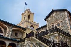 Monasterio de Kykkos en las montañas de Troodos Imagen de archivo libre de regalías