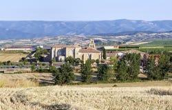 Monasterio de la abadía en Canas, La Rioja Imagen de archivo libre de regalías