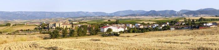 Monasterio de la abadía en Canas, La Rioja Fotos de archivo libres de regalías