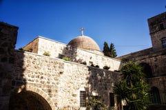 Monasterio de la cruz, Jerusalén Fotos de archivo libres de regalías
