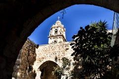Monasterio de la cruz, Jerusalén Foto de archivo