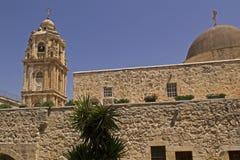 Monasterio de la cruz santa en Jerusalén Fotografía de archivo