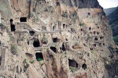 Monasterio de la cueva de Vardzia, Georgia Imagen de archivo