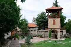 Monasterio de la natividad de la Virgen en Montenegro fotografía de archivo