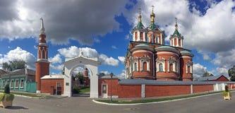 Monasterio de la suposición de Brusensky en Kolomna Fotografía de archivo
