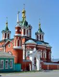 Monasterio de la suposición de Brusensky en Kolomna el Kremlin Kolomna cerca de M Imagen de archivo