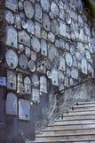 Monasterio de la suposición de las cuevas en Bakhchisaray Imagenes de archivo