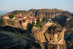Monasterio de la trinidad santa en Meteora fotos de archivo libres de regalías