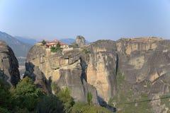 Monasterio de la trinidad santa, Meteora Fotografía de archivo libre de regalías