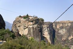 Monasterio de la trinidad santa, Meteora Imagen de archivo libre de regalías