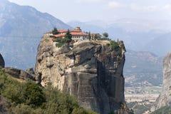 Monasterio de la trinidad santa, Meteora Imagen de archivo