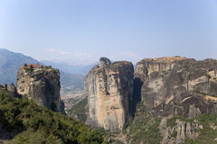 Monasterio de la trinidad santa, Meteora Foto de archivo