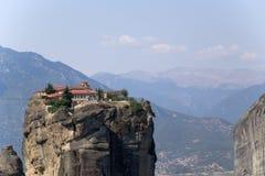 Monasterio de la trinidad santa, Meteora Foto de archivo libre de regalías