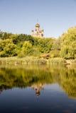 Monasterio de la Virgen Santa, Kiev Foto de archivo libre de regalías