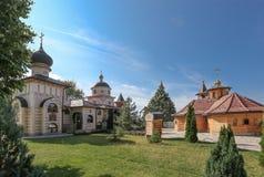 Monasterio de la Virgen Santa - Lesje, Serbia Imágenes de archivo libres de regalías