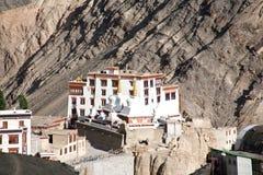 Monasterio de Lamayuru, Leh-Ladakh, Jammu y Cachemira, la India fotos de archivo