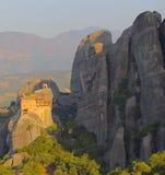Monasterio de los agios Nicolás Anapafsas foto de archivo libre de regalías