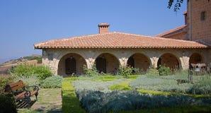 Monasterio de los agios Nicolás Anapafsas imágenes de archivo libres de regalías