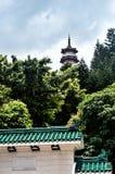 Monasterio de los 10000 buddhas en Hong-Kong, China Foto de archivo