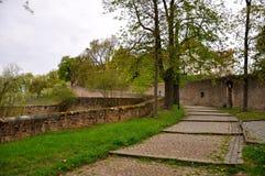 Monasterio de los hombres en un Frauenberg en Fulda Fotografía de archivo libre de regalías