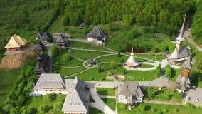 Monasterio de madera de Vodita situado en de Rumania Mehedinti la vieja Vodita herencia de madera occidental del monasterio del c metrajes