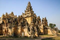 Monasterio de Maha Aung Mye Bonzan, ciudades antiguas, Inwa, región de Mandalay, Myanmar Imágenes de archivo libres de regalías