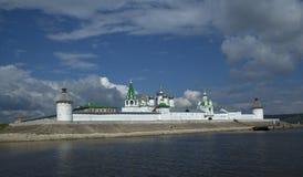 Monasterio de Makaryev Imagen de archivo libre de regalías