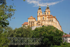 Monasterio de Melk Imagen de archivo