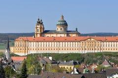Monasterio de Melk Foto de archivo libre de regalías