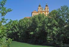 Monasterio de Melk, Austria Imagen de archivo libre de regalías