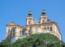 Monasterio de Melk, Austria Fotos de archivo libres de regalías
