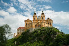 Monasterio de Melk, Austria Fotos de archivo