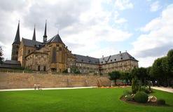 Monasterio de Michaelsberg en Bamberg Imagen de archivo