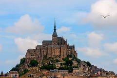 Monasterio de Mont St Michel Imagen de archivo libre de regalías