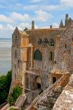 Monasterio de Mont St Michel Fotos de archivo