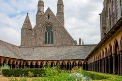 Monasterio de Mont St Michel Imagen de archivo