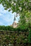 Monasterio de Mont St Michel Fotografía de archivo libre de regalías