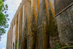Monasterio de Mont St Michel Foto de archivo libre de regalías
