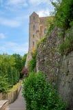 Monasterio de Mont St Michel Fotografía de archivo