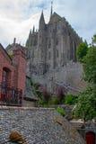 Monasterio de Mont St Michel Imágenes de archivo libres de regalías