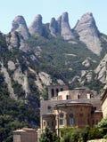 Monasterio de montserrat (½ del ¿de Cataluï a) Imagen de archivo