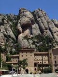 Monasterio de montserrat (½ del ¿de Cataluï a) Fotografía de archivo