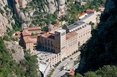 Monasterio de Montserrat/abadía, Cataluña, España Fotos de archivo