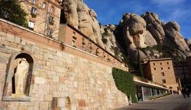 Monasterio de Montserrat cerca de Barcelona, España Imagen de archivo