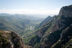 Monasterio de Montserrat, España Foto de archivo