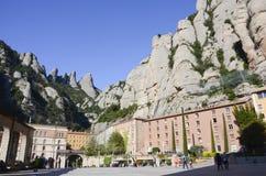 Monasterio de Montserrat, España Foto de archivo libre de regalías