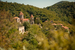 Monasterio de Motsameta, Georgia Fotos de archivo