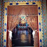 Monasterio de Namdroling Fotos de archivo