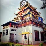 Monasterio de Namdroling Foto de archivo libre de regalías